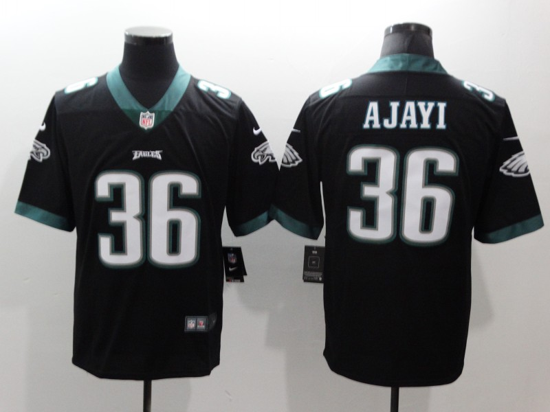 Men's Philadelphia Eagles #36 Jay Ajayi Black Vapor Untouchable Limited Stitched NFL Jersey