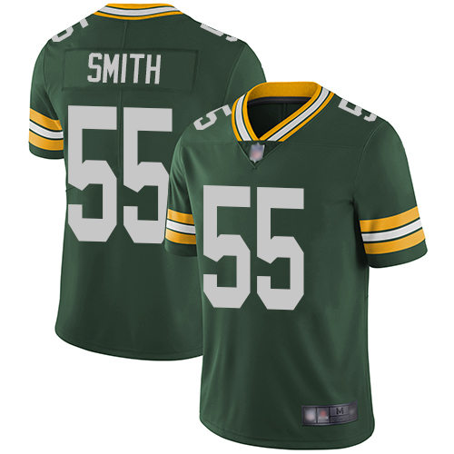 Men's Green Bay Packers #55 Za'Darius Smith Green Vapor Untouchable Stitched NFL Limited Jersey