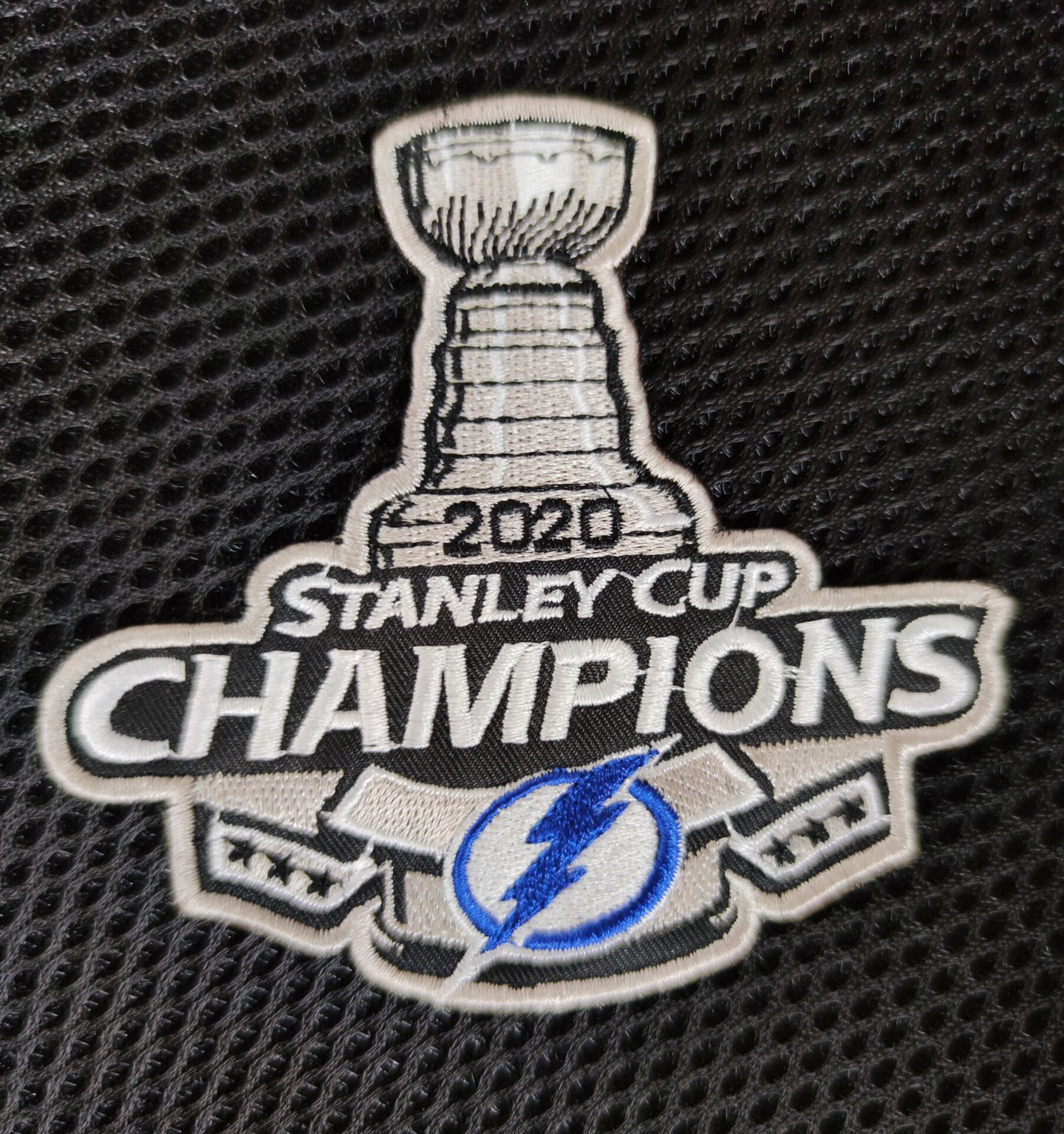 Lightning 2020 Stanley Cup Champions Patch