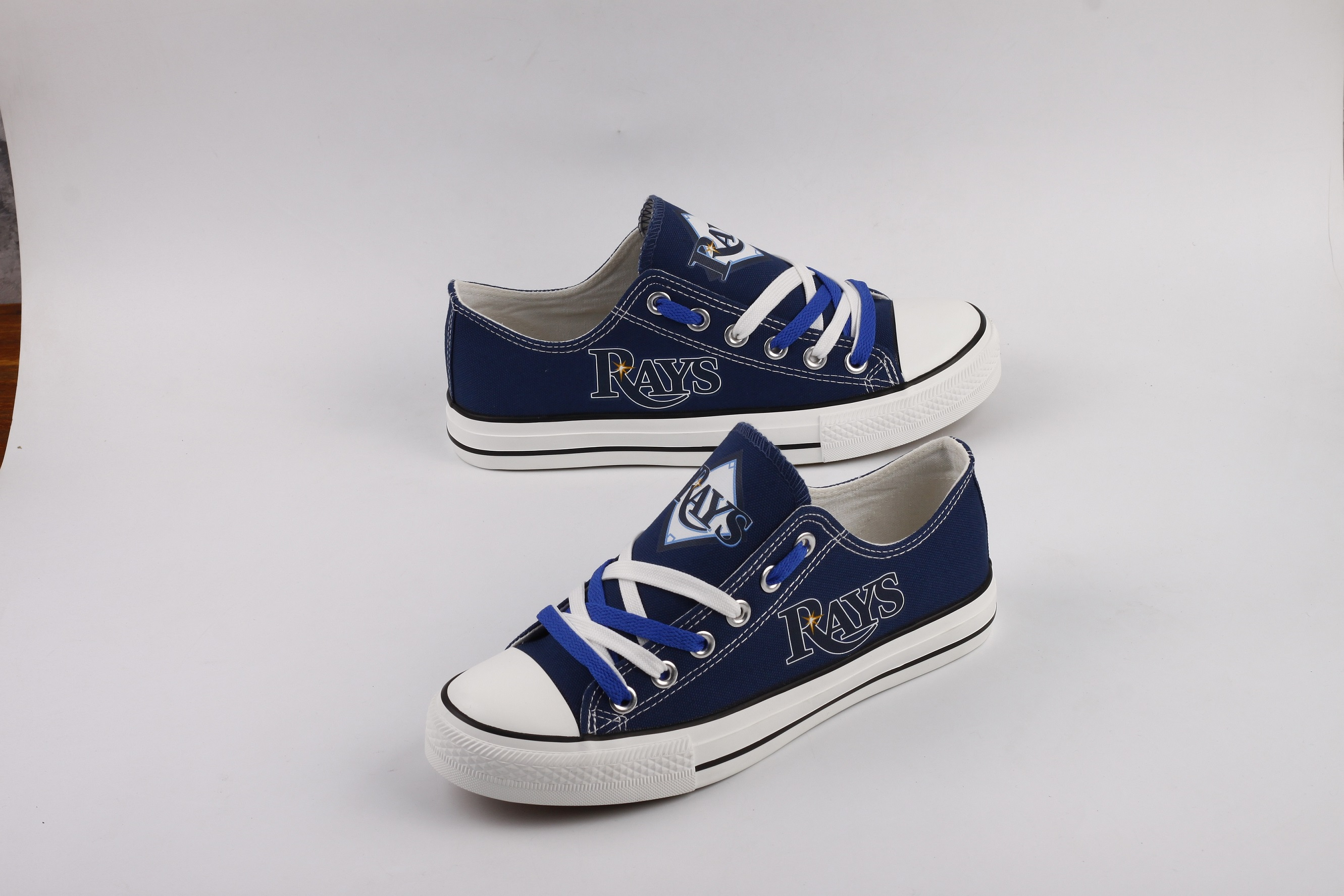 Women and Youth Tampa Bay Rays Repeat Print Low Top Sneakers