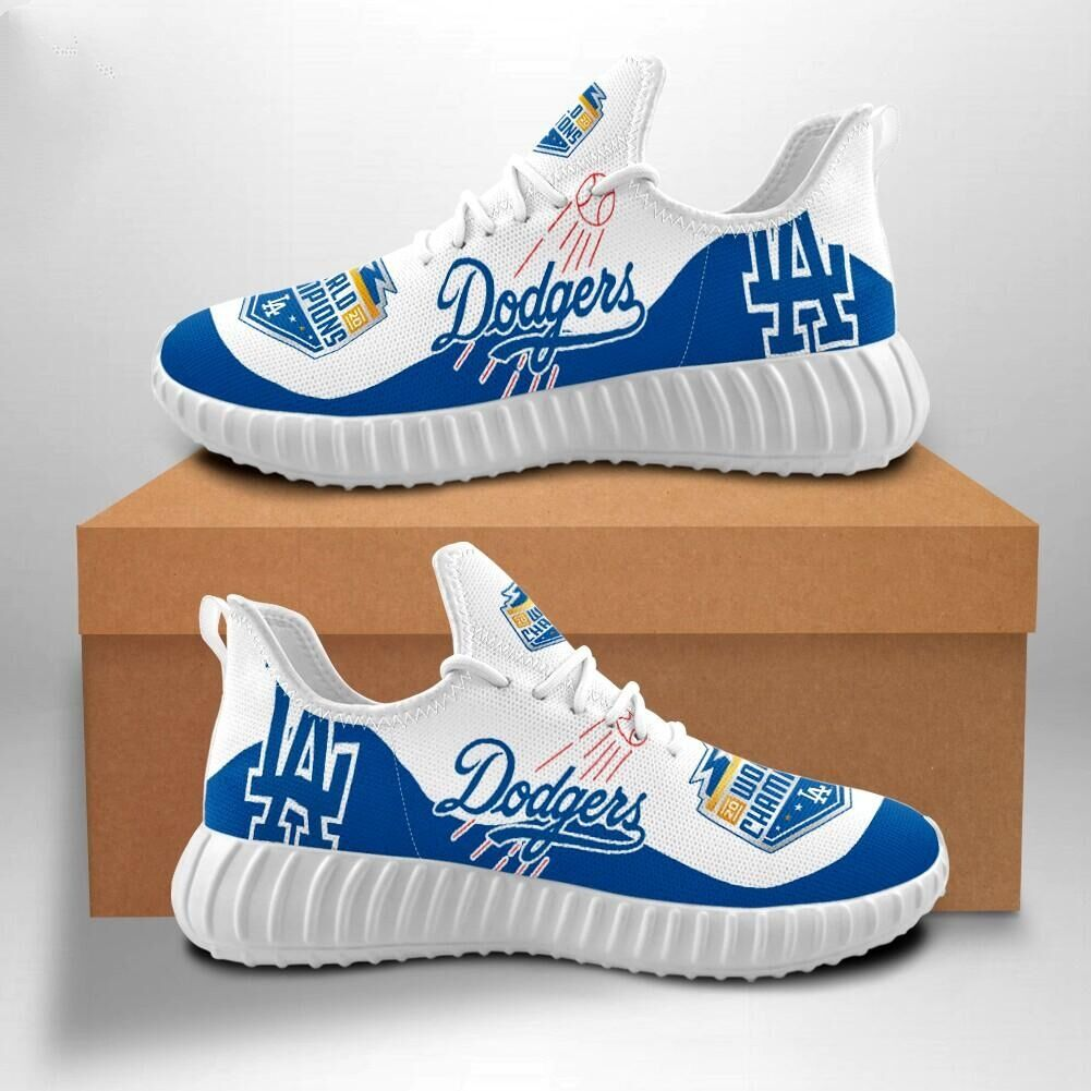 Men's MLB Los Angeles Dodgers World Series Champions Shoes 007