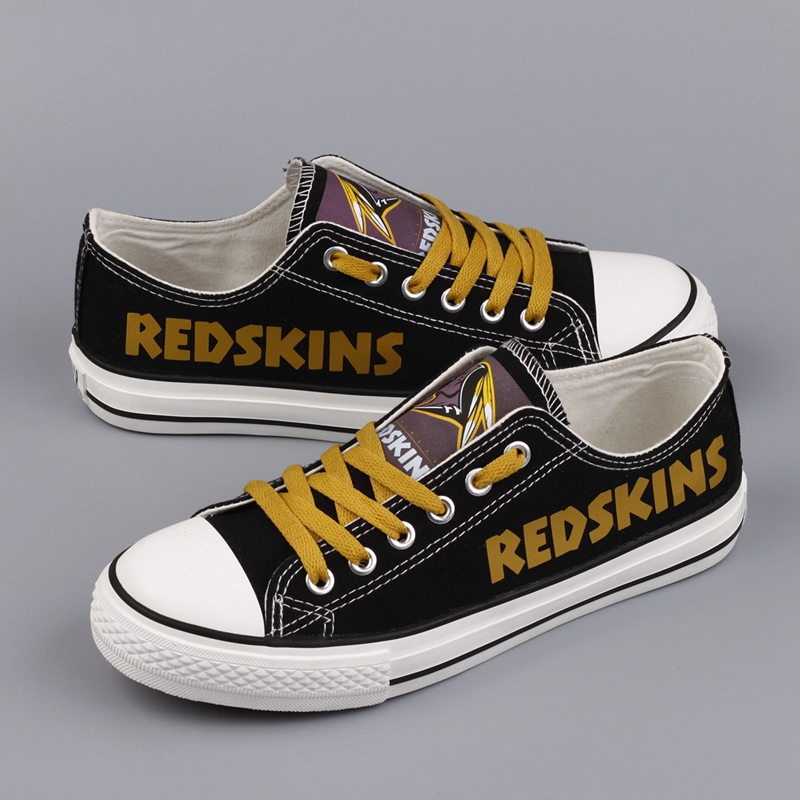 All Sizes NFL Washington Redskins Repeat Print Low Top Sneakers