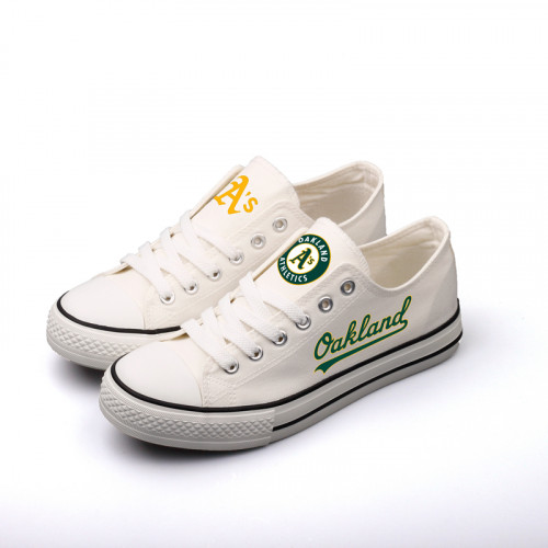 Women's Oakland Athletics Repeat Print Low Top Sneaker