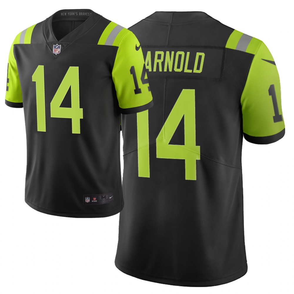 Men's New York Jets #14 Sam Darnold Green 2019 City Edition Limited Stitched NFL Jersey