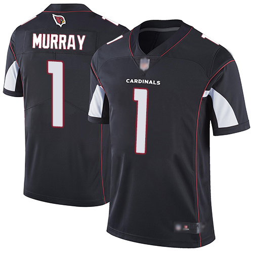 Men's Arizona Cardinals #1 Kyler Murray Black Vapor Untouchable Limited Stitched NFL Jersey