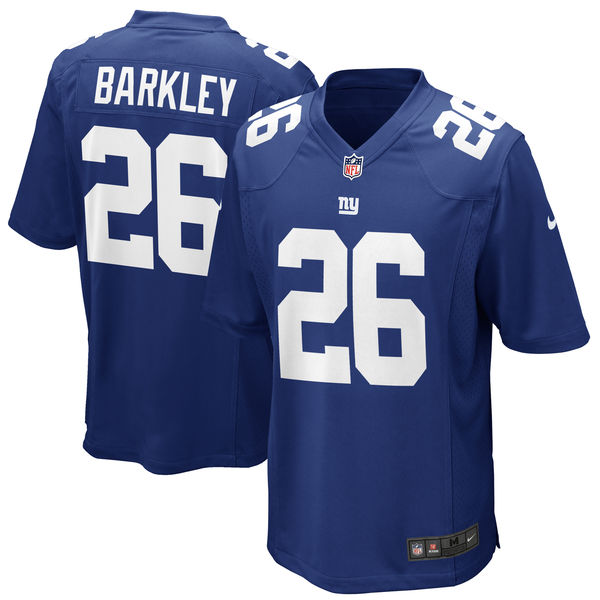 Men's New York Giants #26 Saquon Barkley Royal 2018 NFL Vapor Untouchable Limited Stitched Jersey