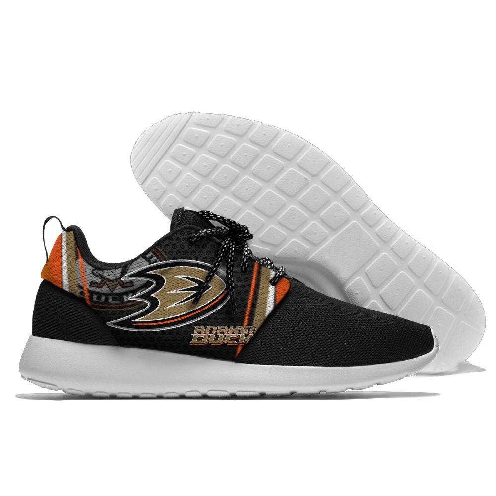 Women's NHL Anaheim Ducks Roshe Style Lightweight Running Shoes 002