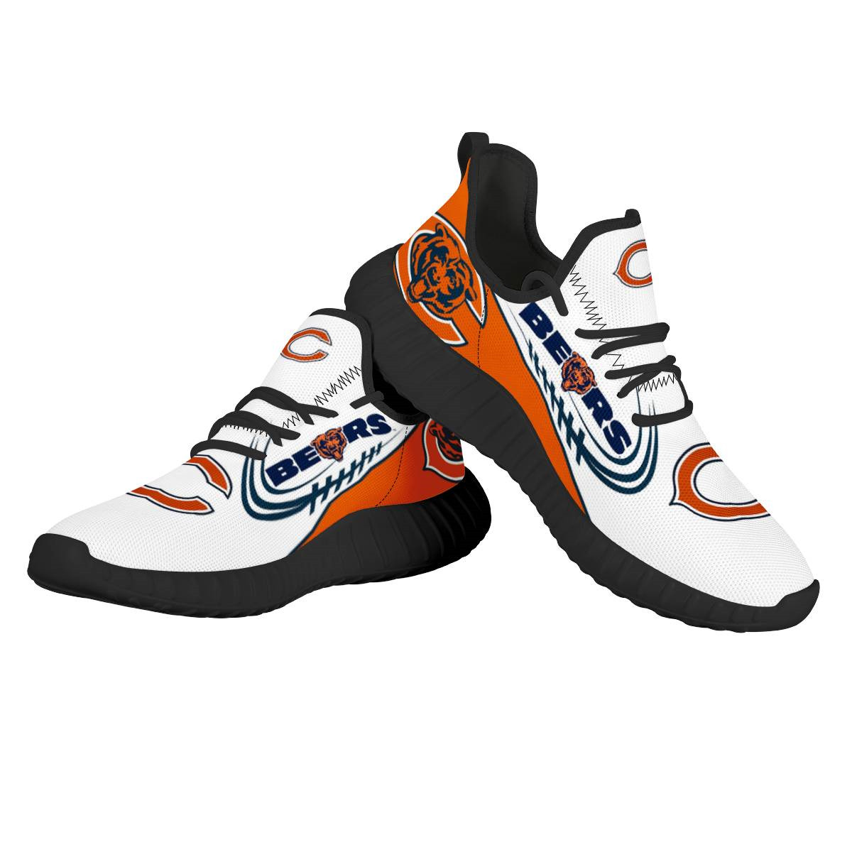 Women's NFL Chicago Bears Lightweight Running Shoes 017