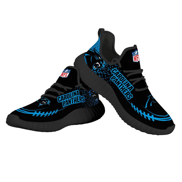 Women's NFLCarolina Panthers Lightweight Running Shoes 006