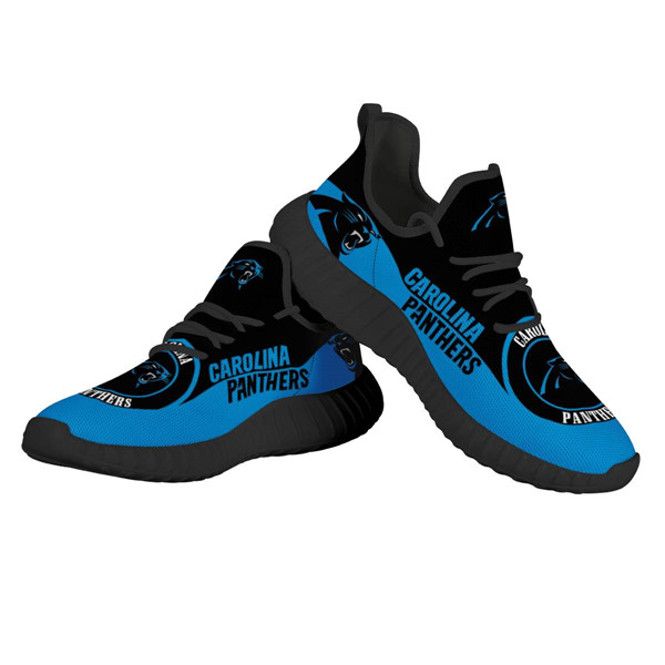 Men's NFL Carolina Panthers Lightweight Running Shoes 007