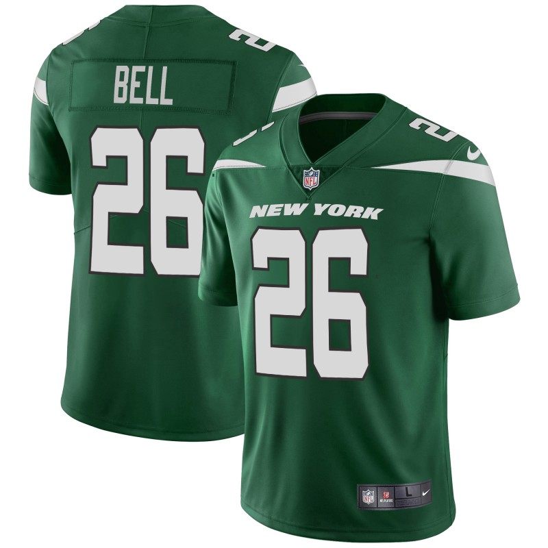 Men's New York Jets #26 Le'Veon Bell Green Vapor Untouchable Limited Stitched NFL Jersey
