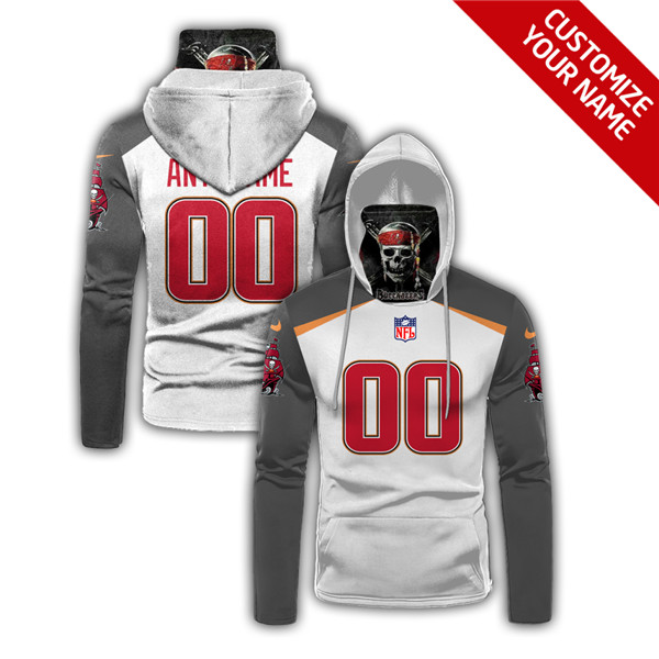 Men's Tampa Bay Buccaneers Customize Stitched Hoodies Mask 2020
