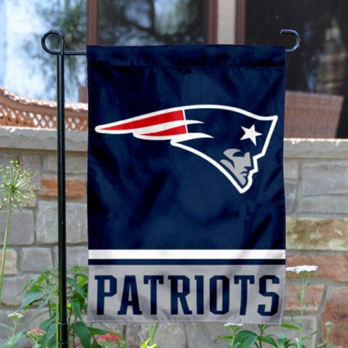 New England Patriots Double-Sided Garden Flag 001 (Pls Check Description For Details)