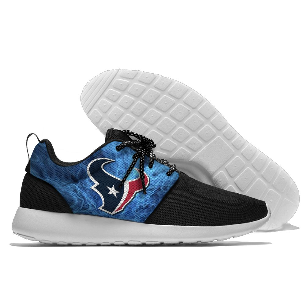 Women's NFL Houston Texans Roshe Style Lightweight Running Shoes 003