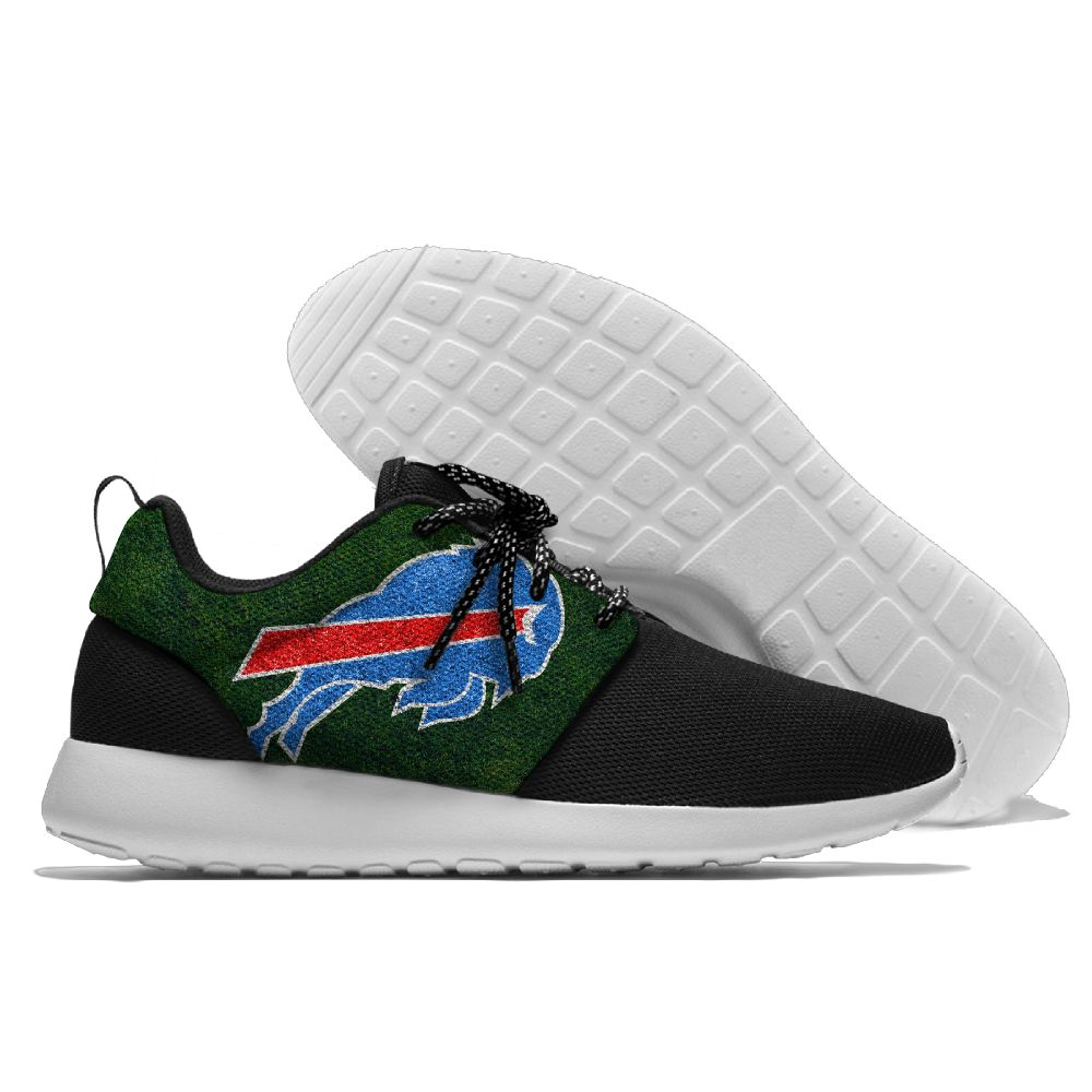Men's NFL Buffalo Bills Roshe Style Lightweight Running Shoes 003
