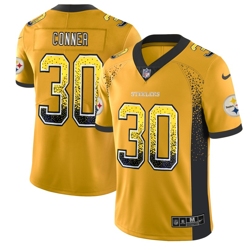 2b179025124 ... Red 2019 Pro Bowl NFL Game Jersey.  25.50. Men s Pittsburgh Steelers  30  James Conner Gold 2018 Drift Fashion Color Rush Limited Stitched NFL