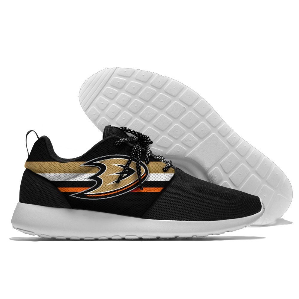 Women's NHL Anaheim Ducks Roshe Style Lightweight Running Shoes 003