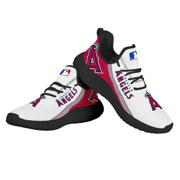 Women's MLB Los Angeles Angels Lightweight Running Shoes 001