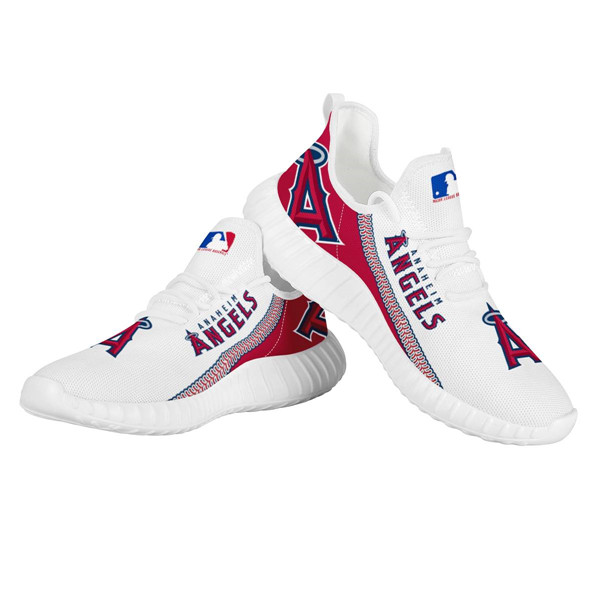 Women's MLB Los Angeles Angels Lightweight Running Shoes 002