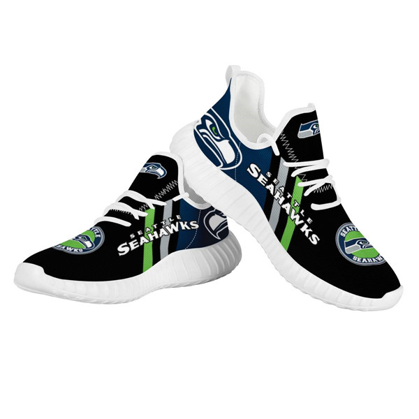 Men's NFL Seattle Seahawks Lightweight Running Shoes 009