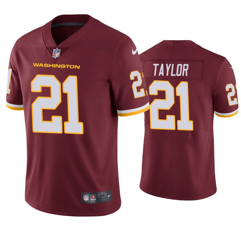 Men's Washington Football Team #21 Sean Taylor Red Vapor Untouchable Limited Stitched NFL Jersey