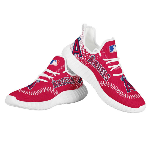 Women's MLB Los Angeles Angels Lightweight Running Shoes 003