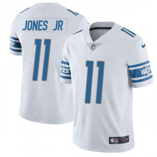 Men's Detroit Lions #11 Marvin Jones Jr. White Vapor Untouchable Limited Stitched NFL Jersey