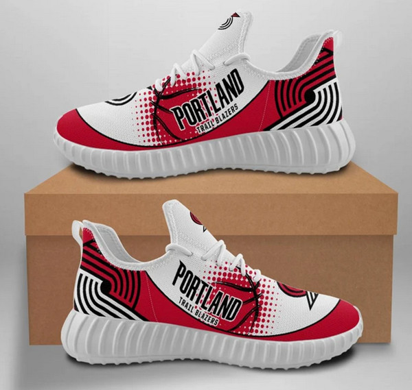 Women's NBA Portland Trail Blazers Lightweight Running Shoes 001
