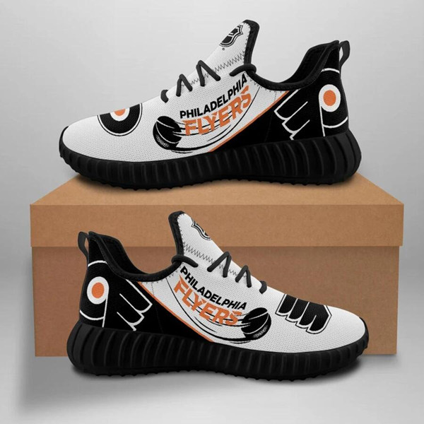 Women's NHL Philadelphia Flyers Lightweight Running Shoes 005