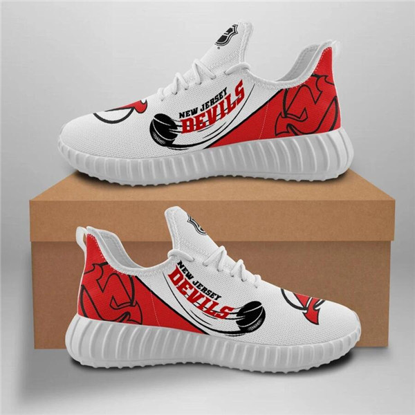 Women's NHL New Jersey Devils Lightweight Running Shoes 001