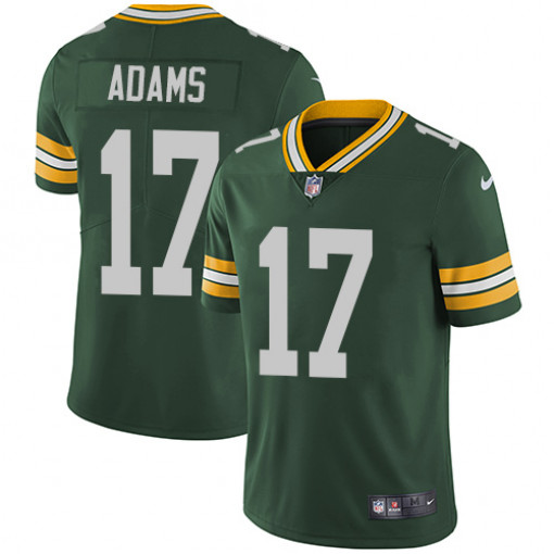 Nike Packers #17 Davante Adams Green Men's Stitched NFL Limited Rush Jersey
