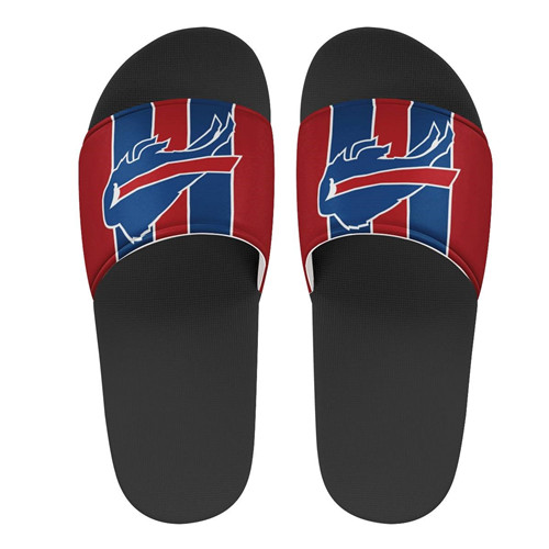 Youth Buffalo Bills Flip Flops 002