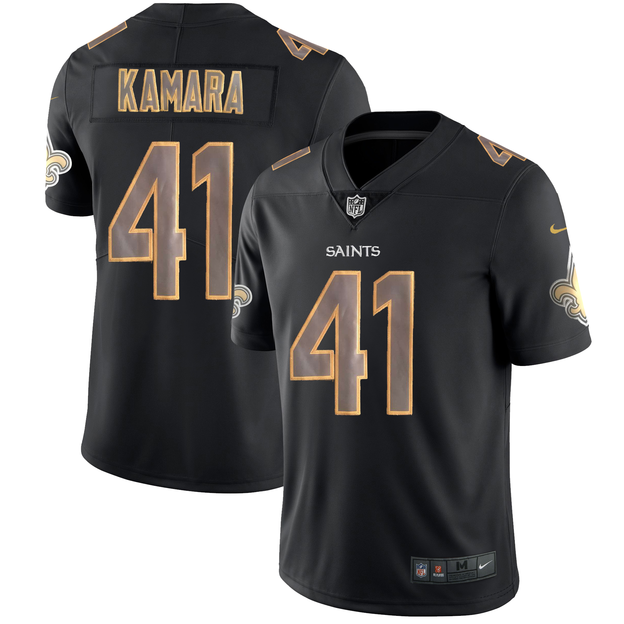 Men's Saints #41 Alvin Kamara Impact Limited Stitched NFL Jersey