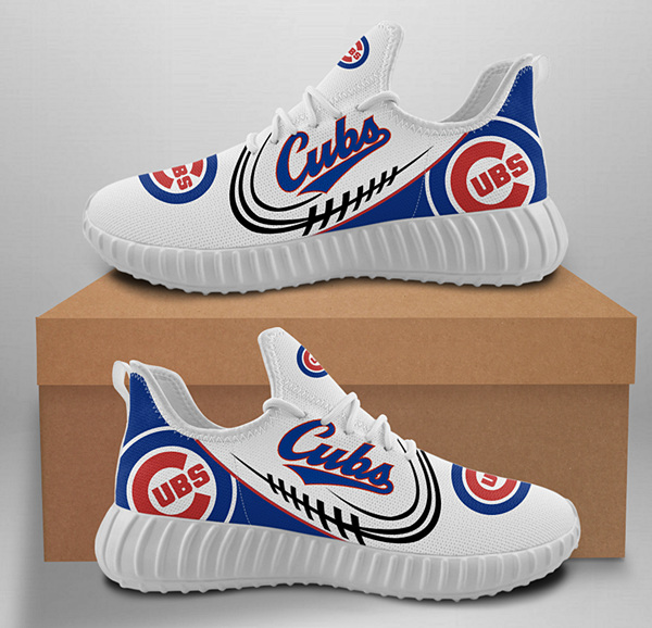 Men's MLB Chicago Cubs Lightweight Running Shoes 0124
