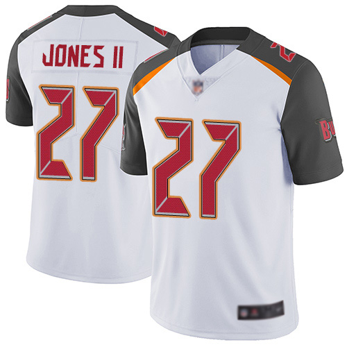 Men's Tampa Bay Buccaneers #27 Ronald Jones II White Vapor Untouchable Limited Stitched NFL Jersey