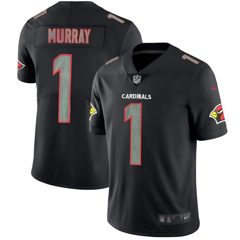 Men's Arizona Cardinals #1 Kyler Murray Black Impact Limited Stitched NFL Jersey