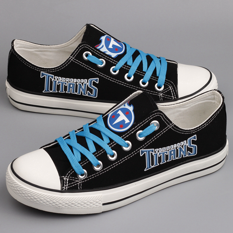 Women and Youth NFL Tennessee Titans Repeat Print High Top Sneakers