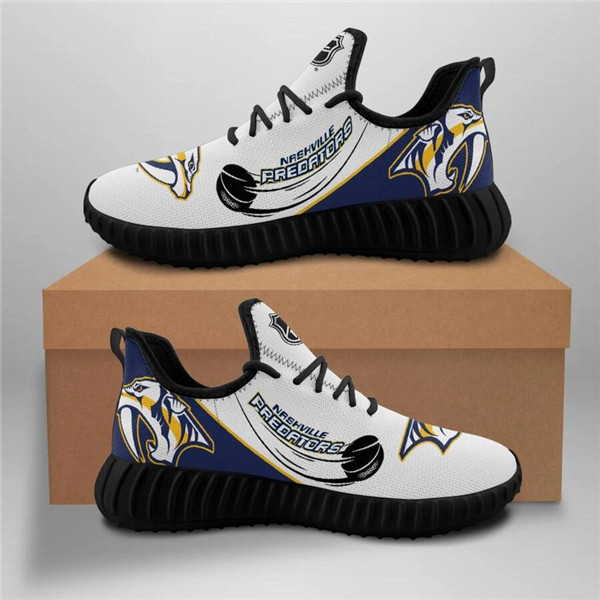 Women's NHL Nashville Predators Lightweight Running Shoes 002
