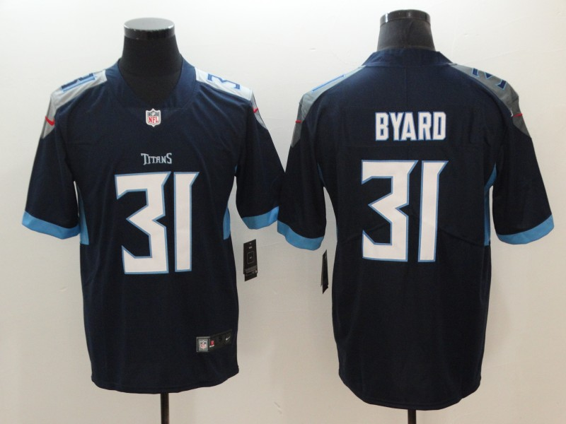 Men's Tennessee Titans #31 Kevin Byard Navy New 2018 Vapor Untouchable Limited Stitched Jersey