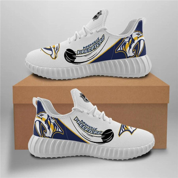 Women's NHL Nashville Predators Lightweight Running Shoes 001