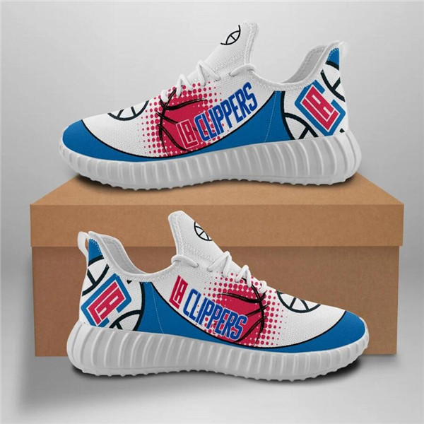 Women's NBA Los Angeles Clippers Lightweight Running Shoes 003