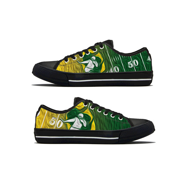 Men's NFL Green Bay Packers Lightweight Running Shoes 019
