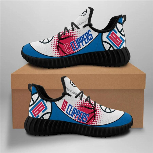 Women's NBA Los Angeles Clippers Lightweight Running Shoes 002