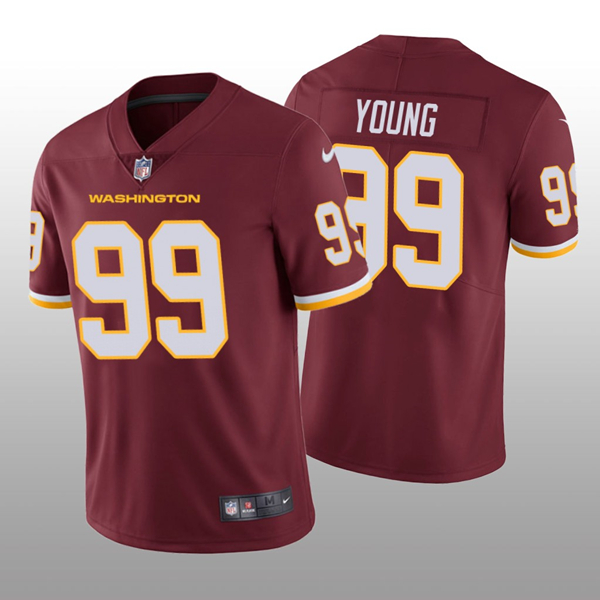 Men's Washington Football Team Red #99 Chase Young Vapor Untouchable Limited Stitched NFL Jersey