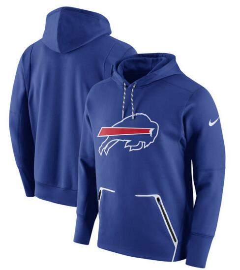 Men's Nike Buffalo Bills Royal Champ Drive Vapor Speed Pullover Hoodie