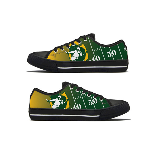 Men's NFL Green Bay Packers Lightweight Running Shoes 017