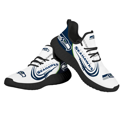 Women's NFL Seattle Seahawks Lightweight Running Shoes 001