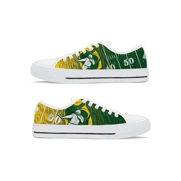 Men's NFL Green Bay Packers Lightweight Running Shoes 016