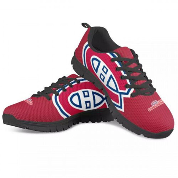 Women's NHL Montreal Canadiens Lightweight Running Shoes 001