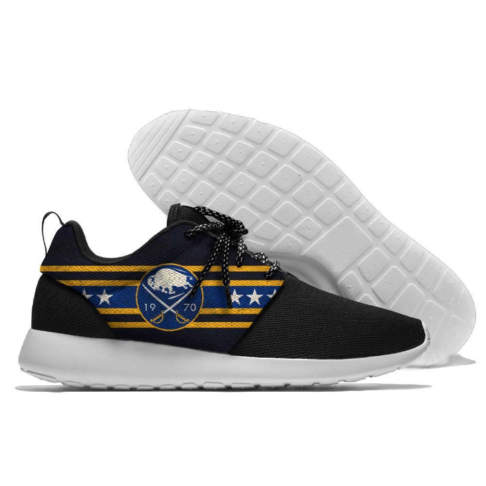 Women's NHL Buffalo Sabres Roshe Style Lightweight Running Shoes 001